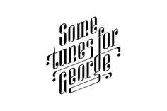 Logo Designs on the Behance Network #logos #white #george #kelava #black #tunes #and #music