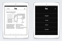 h/e by Atto #website