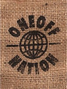 Oneoff Nation #oneoff #nation #print #burlap #screen