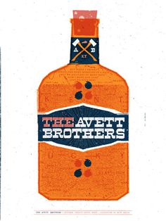GigPosters.com Avett Brothers, The #gig #poster