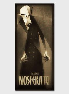 Nosferatu Illustration by Szoki #illustration #poster