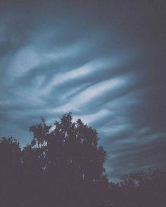 Wavy clouds above Göteborg #clouds #sweden #wavy #wave #nature #scandinavia