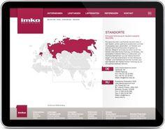 ID&CO: Eine internationale Site für ein globales Unternehmen #med #imko #idco #frick #website #michael