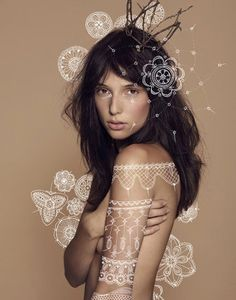 Marie Emmermann #fashion #illustration #famale #nude