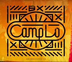 Camp Lo #camplo #hiphop #typography #branding