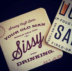 Sauced Coaster #beer #coaster