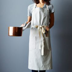 Chef, Apron, Pot, Simplicity, Minimalism, Food