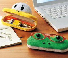 Animal Face Glasses Case