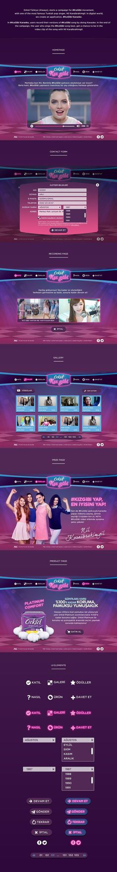 KızGibi Karaoke #website #neon