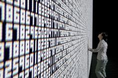ryoji ikeda datatron 11 #ikeda #data #visualization