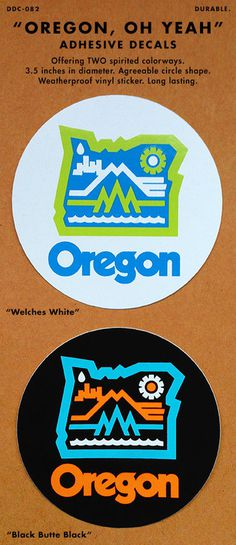 DDC13_OREGON_DECAL.jpg #illustration #draplin #decal #oregon