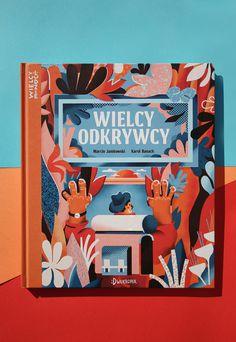 """WIELCY ODKRYWCY"" book illustrations"