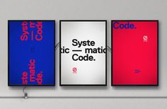 #WeLoveNoise #connectedbycode #installation #posters