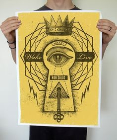 Betraydan #live #wake #non #print #poster #betraydan #solus