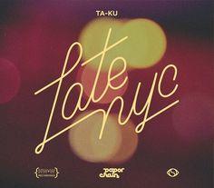 Latenyc : I AM ANTHONIO #cover #design #typography
