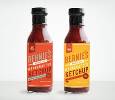 MakeMatter_Bernies_04 #packaging #ketchup
