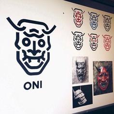 Oni Mask by @cfowlerdesign
