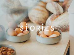 Identity for Stories café #stories #pastel #scandinavian #branding #identity