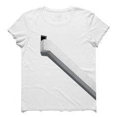 #scalas #white #tee #tshirt #krishnamurti #minimal #simplicity #door #stairs