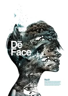 Poster | De Face #inspiration #design #graphic #poster