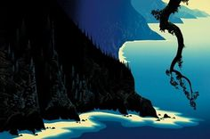 Eyvind Earle® #eyvin #illustration #dearle