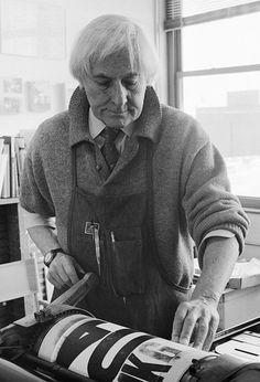 AIGA | Jack Stauffacher #jack #portrait #letterpress #stauffacher