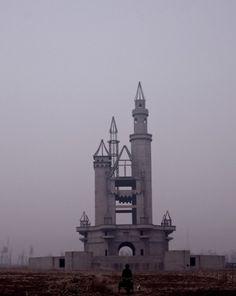 eyefloaters #disney #photography #castle #fog