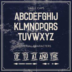 Laudanum #typeface #vintage