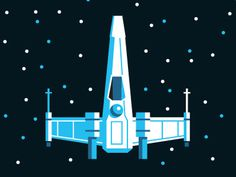 X-Wing #vector #luke #wars #space #wing #illustration #star