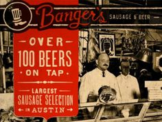 Banger's Austin #lettering #design #texture #website #type #web