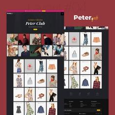 #Peter - #Fashion #Boutique For #Creatives - #Prestashop #Responsive #Theme   #TemplateTrip #eCommerce #Website #Design #Template