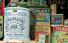 Vintage Packaging #old #design #vintage #type #detail #package