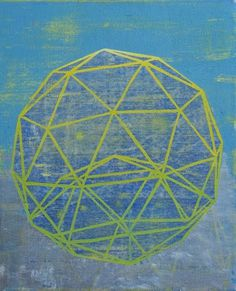 Dan+Bina%2C+Buckyball+I%2C+painting%2C+2011+copy.jpg (JPEG Image, 583x720 pixels) #abstract #ball #bina #dan #bucky #art #buckminster #fuller
