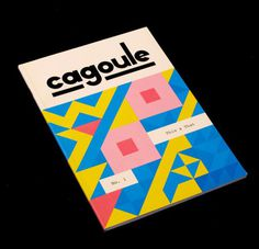 Cagoule_cover 540x520 #design #illustration #cover #magazine