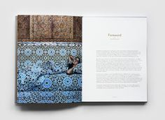 Lalla Essaydi Catalogue 8 #print #book #spread #grid #type #layout