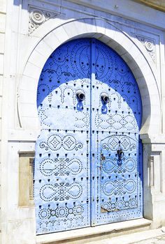 Tunisian door designs #tunisian #door #designs #art