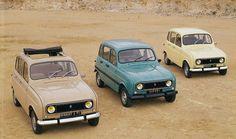 renault 4 celebrates its 50th anniversary #car #renault