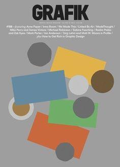Grafik magazine #cover #design #graphic #magazine