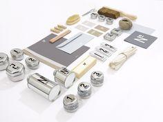 NO. MEN'S SKIN CARE on Behance #packaging #natural #metallic #branding