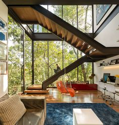 Contemporary Residence Interior in Brazil - #architecture, #house, #home