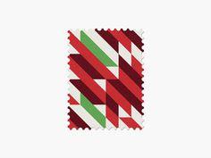 Portugal #stamp #graphic #maan #geometric #illustration #minimal #2014 #worldcup #brazil