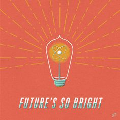 Future's So Bright #illustration #garner #benjamin