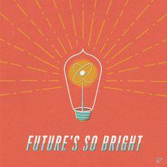 Future's So Bright #illustration #garner #benjamin
