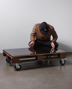 DEUTSCHE & JAPANER - Creative Studio - euro table #design #wood #interior #glas