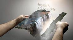 SBS Documentaries / TVC on Behance #travel #landscape #digital #illustration #photoshop #surreal