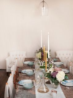 Gwyneth Paltrow, Rose Uniacke, Easter Table Setting, Remodelista #layout #table