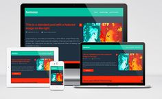 Hermoso : Free Responsive Blogging WordPress Theme