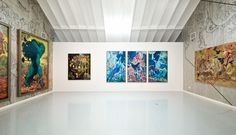 James Jean | REBUS Installation #installation #james #illustration #rebus #jean