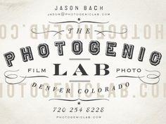 Design Envy | Identity #lab #photogenic #bach #jason