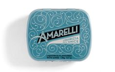 Tumblr #packaging #angelini #design #tin #vintage #amarelli